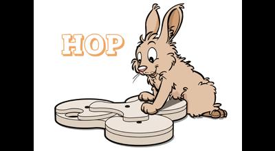 Holt Games HOP, nu ook voor konijnen