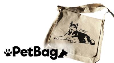 De PetBag schoudertas: een unieke tas met de afbeelding van het huisdier van jouw klant