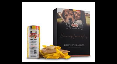 Hondensnacks van de Vlaamse snackbar met Snuffle